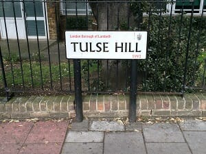 Tulse Hill Sign