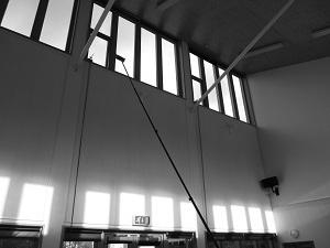 High-level Internal Commercial Window Cleaning