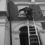 Window cleaning using traditional methods in Camberwell