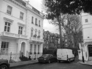 SW7 Window cleaning BW