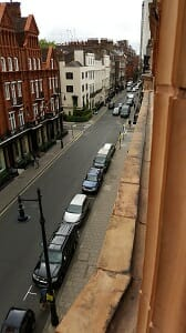 View window cleaning in Mayfair